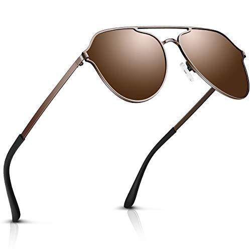DADA-PRO Sonnenbrille Herren Pilotenbrille Damen Polarisiert Verspiegelt Retro Fahren Fahrerbrille...
