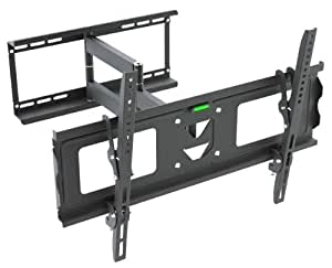 """Mount 126 LED LCD PLASMA LOW PROFILE CANTILEVER SWIVEL ARM CORNER TV WALL BRACKET for 32, 37, 40, 42, 43, 44, 45, 46, 47, 50, 51, 52, 53, 54, 55, 56, 57, 59, 60"""" Inch"""