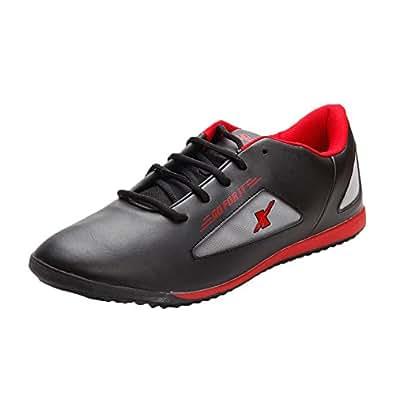 Sparx Men's Sports Shoes (SM-184-BLACK-RED-10)
