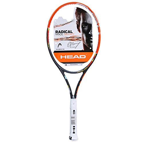 HEAD Erwachsene Tennisschläger Youtek Graphene Radical MP, Orange/Schwarz, L3, 230514