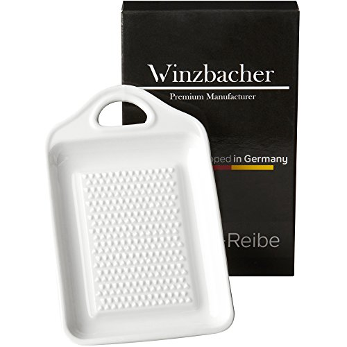 Winzbacher - Keramik Ingwerreibe | Ideal für Ingwer...