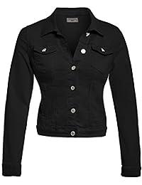 SS7 New Women's Denim Stretch Smart Jacket, Sizes 8 To 14