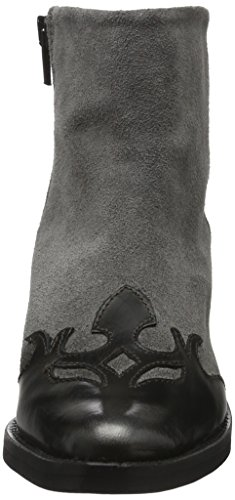 Bronx - Django, Stivali bassi con imbottitura leggera Donna Multicolore (Mehrfarbig (gunmetal/Grey 1790))