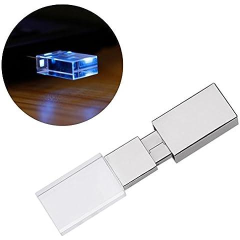 LANDFOX USB 2.0 Flash Drive de memoria del palillo del pulgar de almacenamiento digital U disco (2GB,