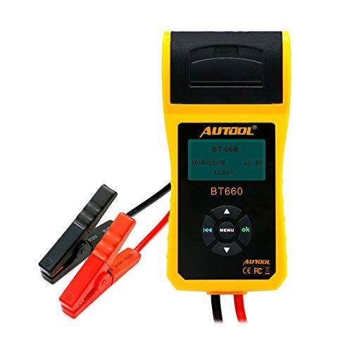 GST&GST BT-660 Batterieleitfähigkeit Tester 12 V / 24 V Auto Batterietester Analyzer