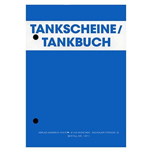 Tankschein-Block DIN A6 Tankbuch Kontrollbuch Treibstoff Nachweis