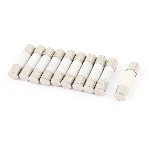 10PCS 250V 800mA 0.8A colpo veloce ceramica fusibili tubi 5mm x (Appliance Prodotti)