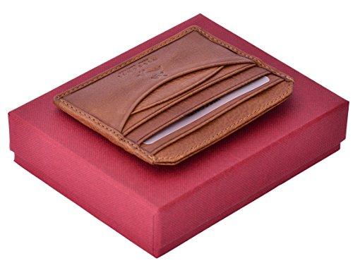 Visconti Porte Cartes Crédit/Visite Darwin, Soft Leather Credit Business Card Holder (DRW25):