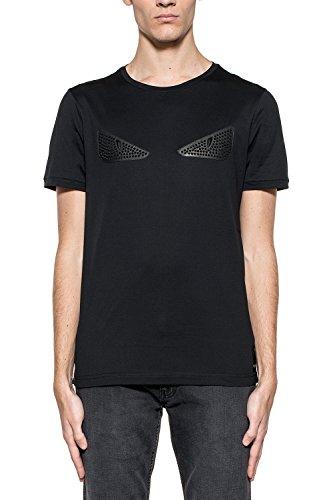 fendi-homme-fy0626okmf0qa1-noir-coton-t-shirt