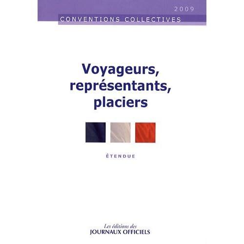 Voyageurs, représentants, placiers. Brochure 3075. 12e édition - février 2009