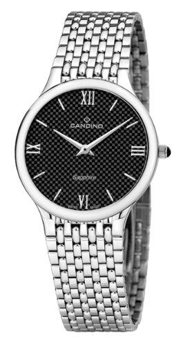 Candino C4362/4 Herren-Armbanduhr Quarz Analog Edelstahl Silber