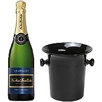 Nicolas Feuillatte Champagner Brut in Champagner Kübel 12% 0,75l Fl.