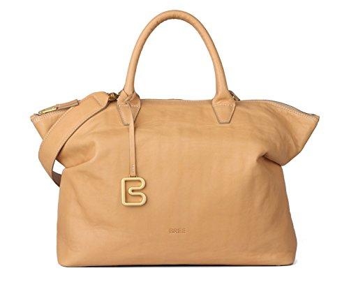 BREE, Borsa a mano donna beige naturale 38 cm x 28 cm x 12 cm (B x H x T) naturale