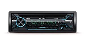 Sony MEX-N4200BT Autoradio con Lettore CD, Illuminazione Blu, Controllo Vocale, NFC, Dual Bluetooth, USB, 4 x 55 W, Nero
