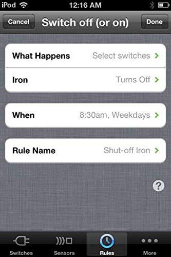 Belkin Wemo Home Automation Switch mit Motion-Sensor, intelligente Steckdose für iOS- und Android-Geräte - 13