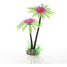 Ngnrjgs - Figura Decorativa de césped de Agua para Acuario, Coco, crisantemo, acuático