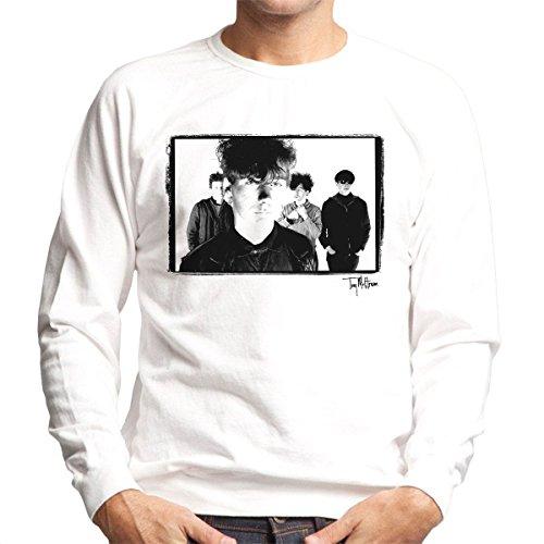 Tony Mottram Official Photography - Jesus And Mary Chain Band Shot Jim Reid Close Up Men's Sweatshirt