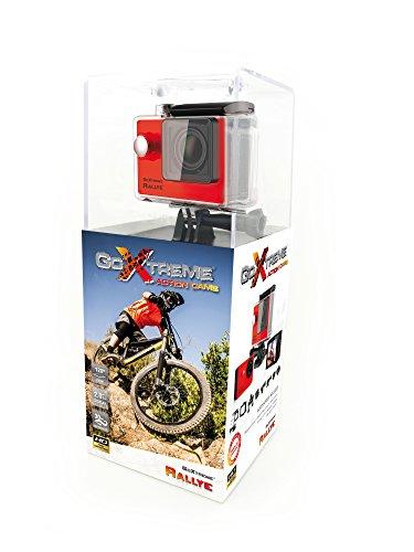 GoXtreme Rallye 20126 - Cámara Deportiva (5 MP, 1280 x 720 píxeles, USB 2.0), Color Rojo