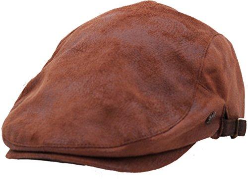 Sujii iCAB-2 Newsboy béret Flat Cap Casquette Plate Cabbie Hat Chapeau de Chauffeur Golfer Cap Chapeau de Golf Casquette Souple Hunter Cap Chapeau de