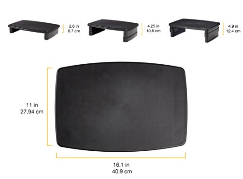 AmazonBasics variable Monitor take on a position Monitor Arms Stands