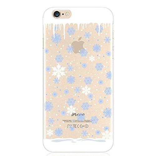 iPhone 6Plus/iPhone 6S Plus PC éclat brillant strass Coque, newstars stéréo papillon strass cristal diamant Transparent Plaqué Bumper Coque de protection pour iPhone 6Plus/iPhone 6S Plus léger coque A TPU 1