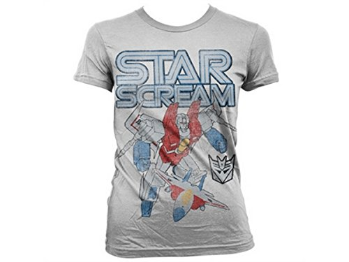 Transformers - T-shirt - Manches Courtes - Femme -  blanc - Medium
