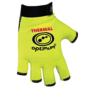 Optimum Boy's Stik Mit Thermal Rugby Gloves - Fluro Yellow, X-Small