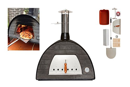 Wood-Fired Bread, Meat, Pizza Fish Outdoor Oven REAL WOOD REAL FLAVOR Escape The Indoors �