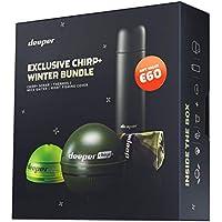 Deeper CHIRP+ Smart Sonar - drahtlos, tragbar, GPS-Fischfinder und Tiefenfinder, Onshore oder Offshore, Süßwasser oder Salzwasser