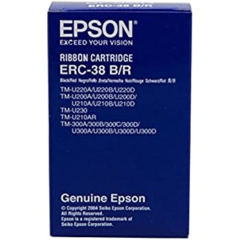 12 EPSON ERC30 ERC34 ERC48 ERC 30 ERC 34 ERC 38 Black PRINTER RIBBON By SMCO