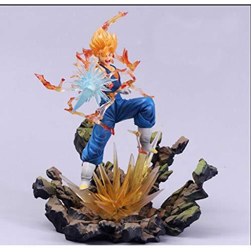 ZEQUAN Cabeza de muñeca Modelo de animación Dragon Ball animación Personaje estatuilla Juguete Estatua de Juguete