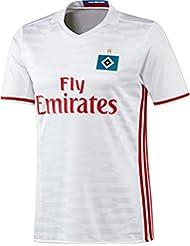 20162017Hamburger SV Radsport Trikot Johan DJOUROU Lewis Holtby, Alen HALILOVIC Home Football Soccer Jersey Kit in Weiß