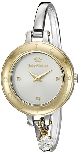 Juicy Couture Women's 'Melrose' Quartz Gold and Stainless Steel Casual Watch, Color:Silver-Toned (Model: 1901431)