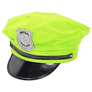 CREATIVE UV fluorescente Cap Policía