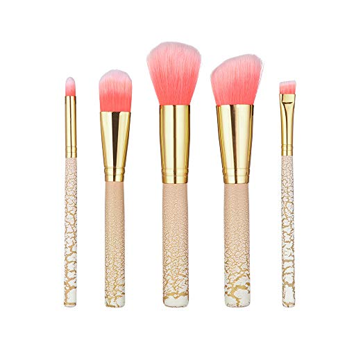 99L'amour 5 PCS Maquillage Professionnel Yeux Pinceau Maquillage des Yeux cosmétiques Soins Brosse Beauté Produits (B)
