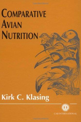 Comparative Avian Nutrition (Cabi Publishing) by K.C. Klasing (1998-01-02)