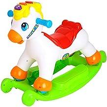Sun Baby b12.006.1.1 Inter activo caballo balancín, color blanco