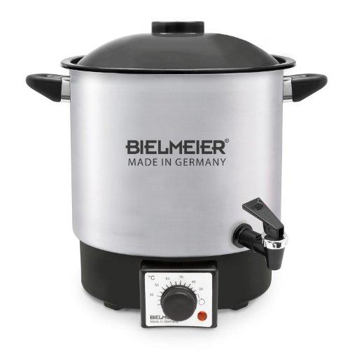 Bielmeier 990122 Einkoch-Halbautomat / Glühwein-Halbautomat 9 Liter / Edelstahl / 3/8'' Kunststoff-Auslaufhahn / 1000 W