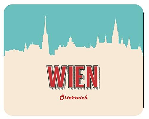 Preisvergleich Produktbild Mousepad Wien Skyline