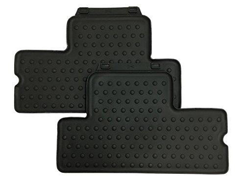 Mini, set di tappetini auto posteriori, originali, in gomma, adatti per ogni condizione meteo, 51472231961