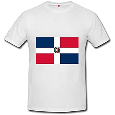 T-shirt Repubblica dominicana flag