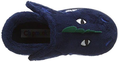 Chipmunks Dino, Chaussons garçon Bleu - Blue (Navy   012)