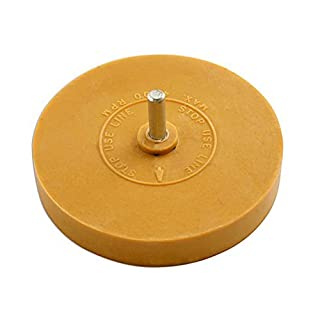 1 Stripe Removal Wheel Adhesive Glue Eraser Caramel Toffee Decal Sticker Remover by AllTrade Direct by AllTrade Direct