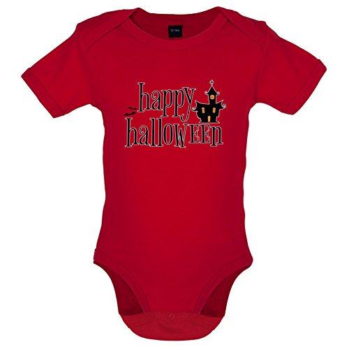 stiger Baby-Body - Rot - 0 bis 3 Monate (0 Bis 3 Monate Halloween Kostüme)