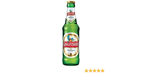 Kingfisher Premium Indian Lager Beer 24 X 330 Ml 4 8 Abv