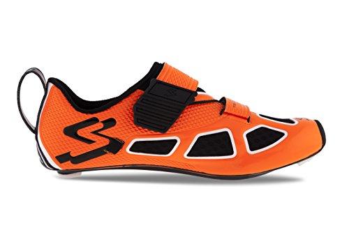 Spiuk Trivium Triathl C Sneaker Unisex Arancio / Bianco / Nero