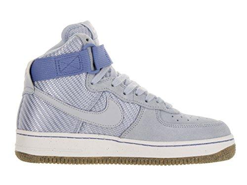 Nike - Wmns Air Force 1 Hi Prm, Scarpe sportive Donna Blu (Azul (Porpoise / Porpoise))