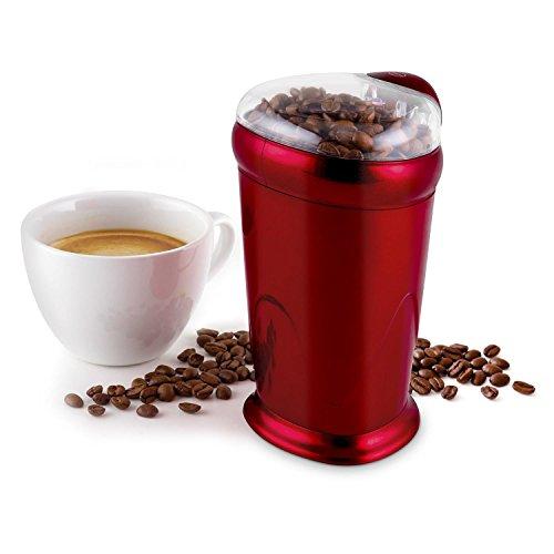 oneConcept Escobar Macinacaffè 150W 40 g Chicchi Di Caffè Rosso