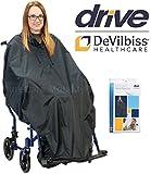 Drive Rollstuhlponcho wasserdicht mit elastischem Saum