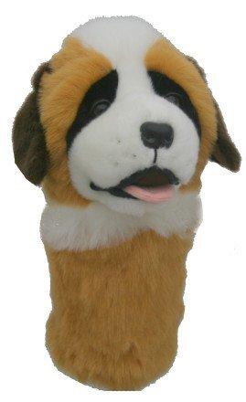 Daphne's St Bernard Hund Neuheit Golf Schläger Schlägerhaube für Driver, 1 holz 460cc übergroßer Kopf -